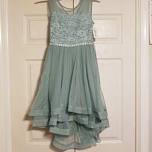 Seafoam Green formal dress